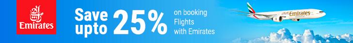 Cupoane de reducere Emirates.com